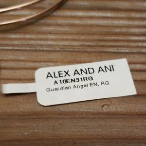 Alex and Ani Jewelry - Alex & Ani Rose gold Angel wings
